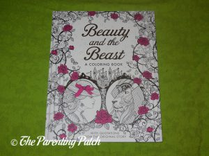 Front Cover of 'Beauty and the Beast: A Coloring Book'