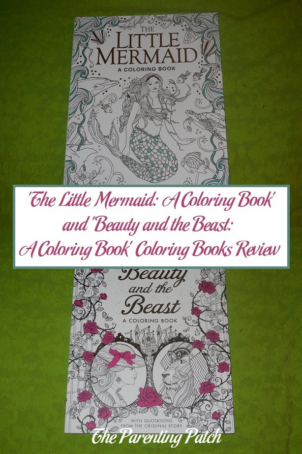 'The Little Mermaid: A Coloring Book' and 'Beauty and the Beast: A Coloring Book' Coloring Books Review