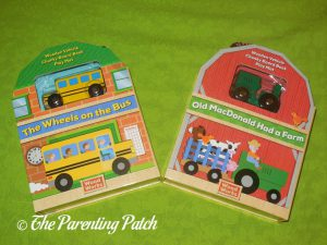 'Woodworks Nursery Rhymes: Old MacDonald' and 'Woodworks Nursery Rhymes: Wheels on the Bus'