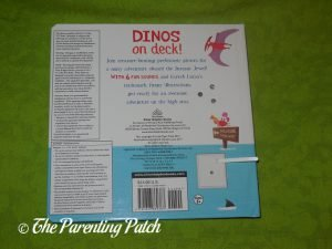 Back Cover of 'Dinos on Deck'