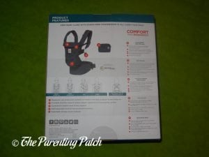 Back of Ergobaby Omni 360 All-in-One Baby Carrier Box