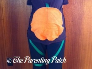 Pumpkin Patch Pregnant Belly Costume