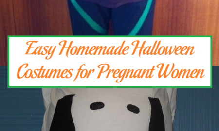 Easy Homemade Halloween Costumes for Pregnant Women