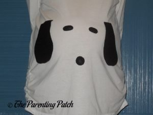 Snoopy Pregnant Belly Halloween Costume