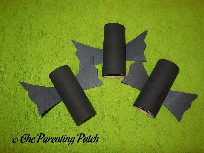black bat halloween toilet paper roll craft parenting patch. Black Bedroom Furniture Sets. Home Design Ideas