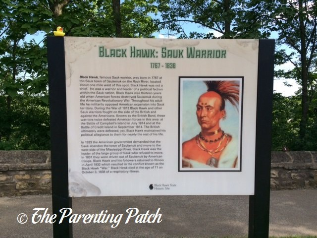 The Duck and the Black Hawk State Historic Site