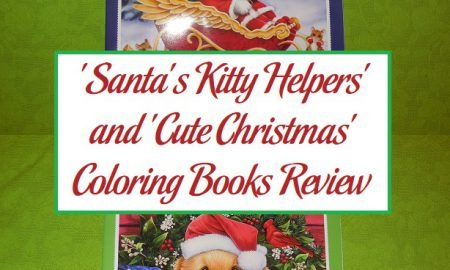 'Santa's Kitty Helpers' and 'Cute Christmas' Coloring Books Review
