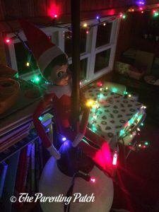 The Elf and the School Room Lights