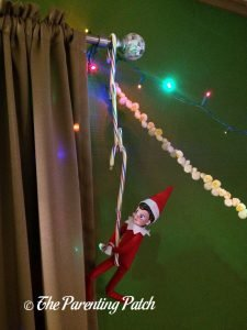The Elf on the Curtains