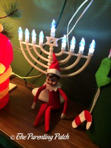The Elf and the Menorah
