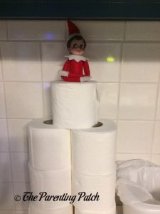 The Elf and the Toilet Paper Fort 2