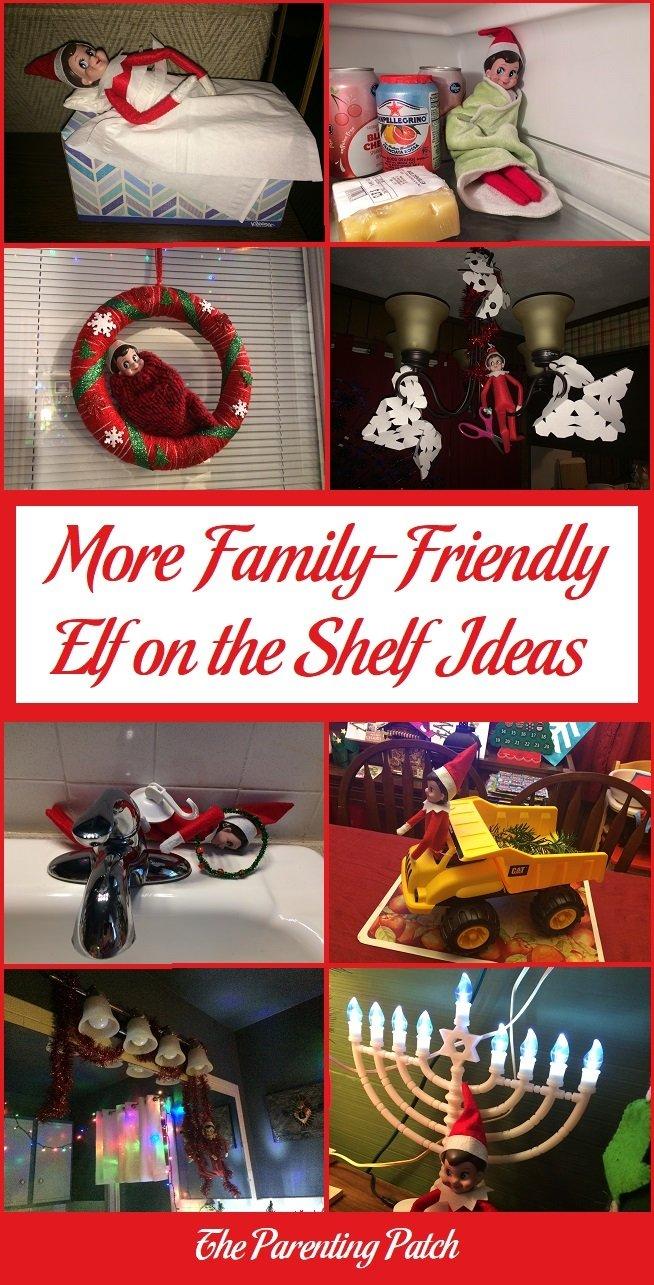 More Family-Friendly Elf on the Shelf Ideas