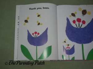 Inside Pages of 'Thank You, Bees' 2