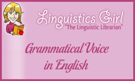 Grammatical Voice in English
