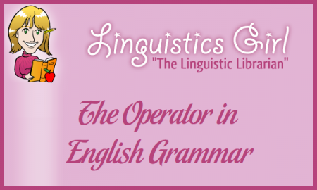 The Operator in English Grammar