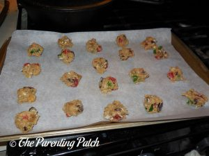 Unbaked Fruitcake Cookies