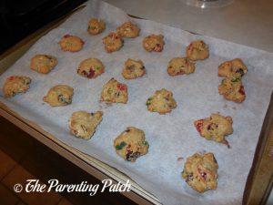 Baked Fruitcake Cookies