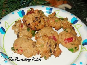 Plate of Fruitcake Cookies