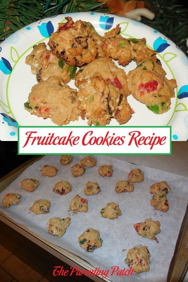Fruitcake Cookies Recipe