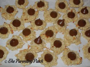 Coconut Macaroon Blossom Cookies
