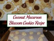 Coconut Macaroon Blossom Cookies Recipe