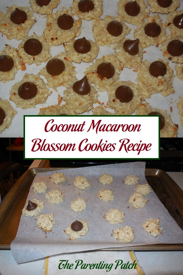 Coconut Macaroon Blossom Cookies Recipe