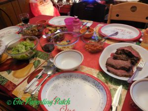 Prime Rib Roast Holiday Meal Table 2