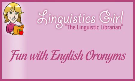 Fun with English Oronyms