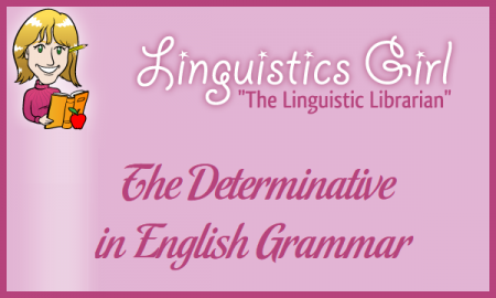 The Determinative in English Grammar