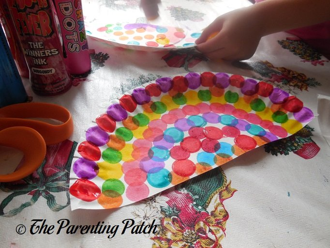 Image result for umbrella paper plate craft