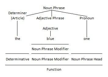 Pronoun as Noun Phrase Head