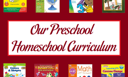 Our Preschool Homeschool Curriculum