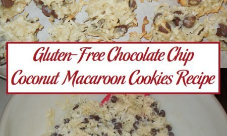 Gluten-Free Chocolate Chip Coconut Macaroon Cookies Recipe