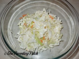 Coleslaw Mix for Gluten-Free Cabbage Fritters