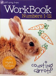 A+ Let's Grow Smart! Numbers 1-12 Workbook