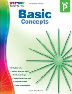 Basic Concepts, Grade PK