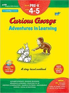 Curious George Adventures in Learning, Pre-K