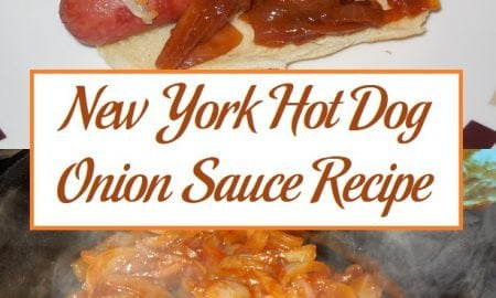 New York Hot Dog Onion Sauce Recipe