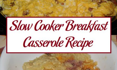 Slow Cooker Breakfast Casserole Recipe