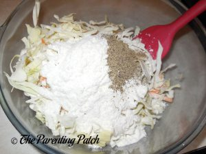 Seasoning for Gluten-Free Salmon Cabbage Fritters