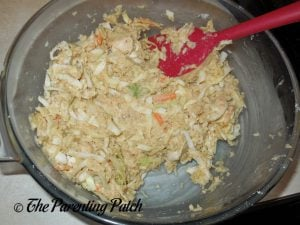 Batter for Gluten-Free Salmon Cabbage Fritters
