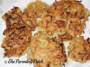 Gluten-Free Salmon Cabbage Fritters