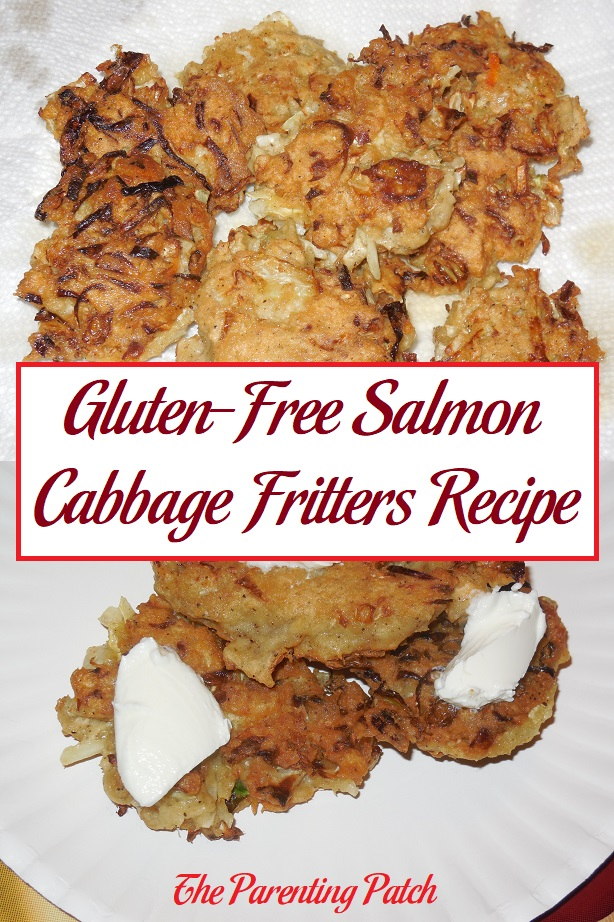 Gluten-Free Salmon Cabbage Fritters Recipe