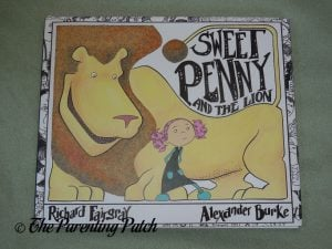 Front Cover of 'Sweet Penny and the Lion'