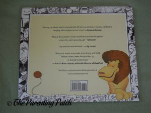 Back Cover of 'Sweet Penny and the Lion'