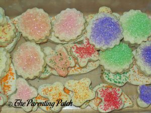 Lower-Sugar Rolled Sugar Cookies