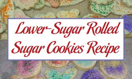 Lower-Sugar Rolled Sugar Cookies Recipe