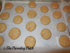 Baked Peanut Butter and Jelly Cookies