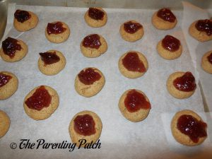 Putting Jam on the Peanut Butter and Jelly Cookies
