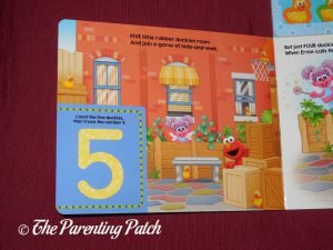 Inside Pages of 'Sesame Street: 5 Little Rubber Duckies' 1